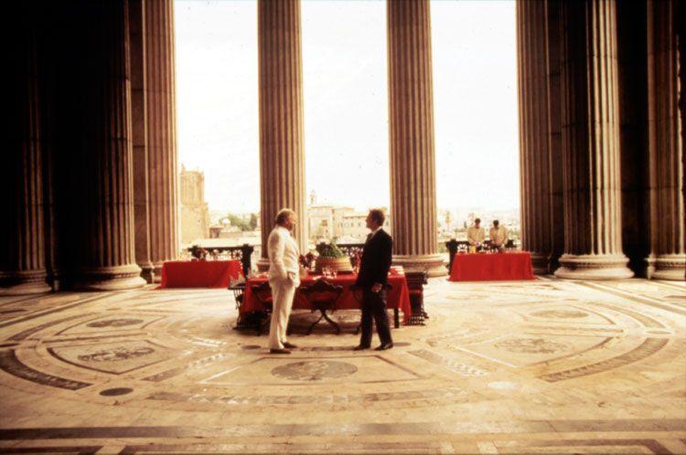 Il Ventre Dell Architetto 1987 Di Peter Greenaway Interno Del Vittoriano Piazza Venezia Architetti Vittoriano Venezia
