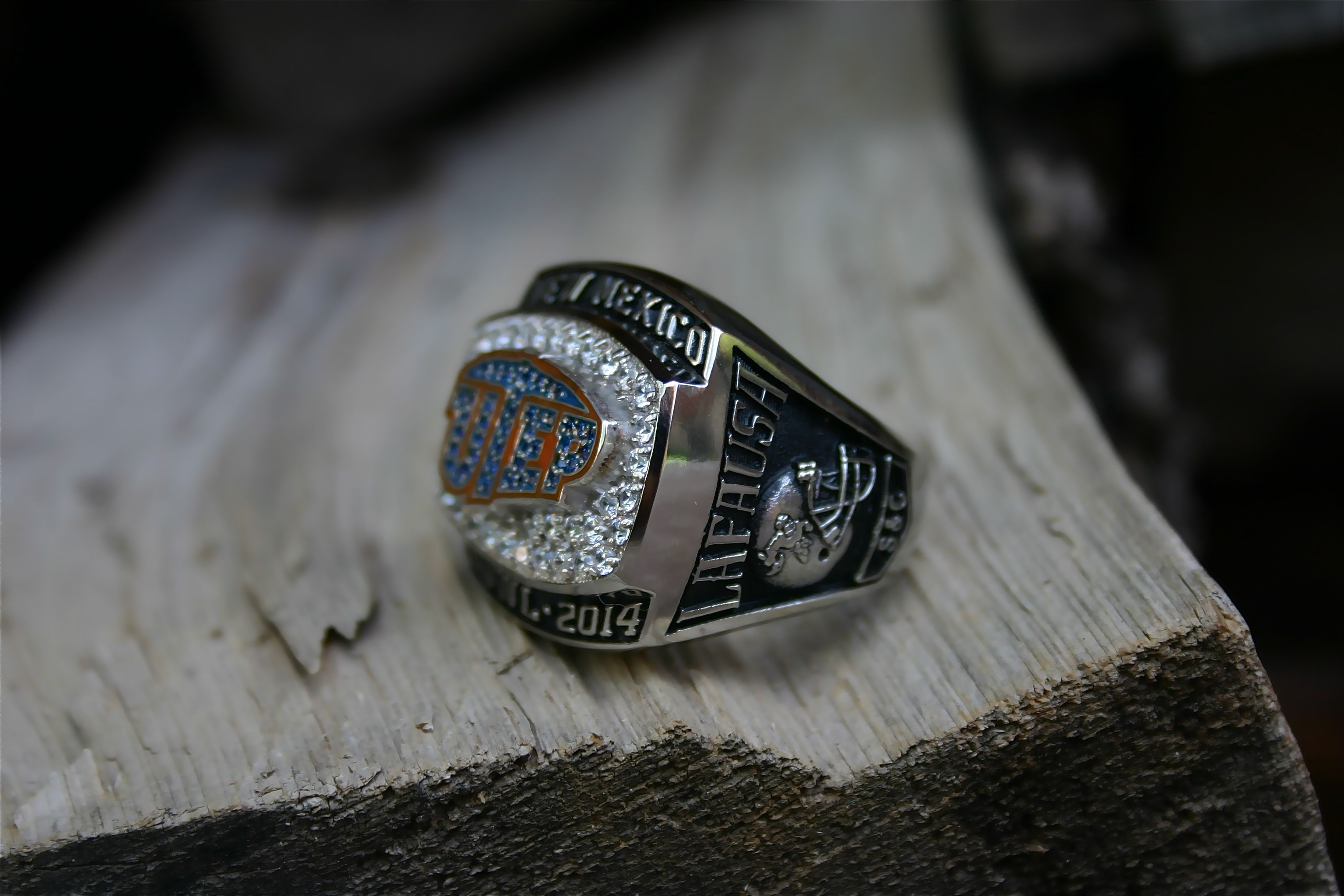 football saints rings ring mexico new utep pin bowl championship