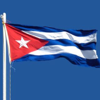 Cuban Flag Containing A Field With 3 Blue Stripes And 2 White Stripes And A Red Equilateral At The Hoist With A White 5 Poi Cuba Flags Of The World Cuban Flag