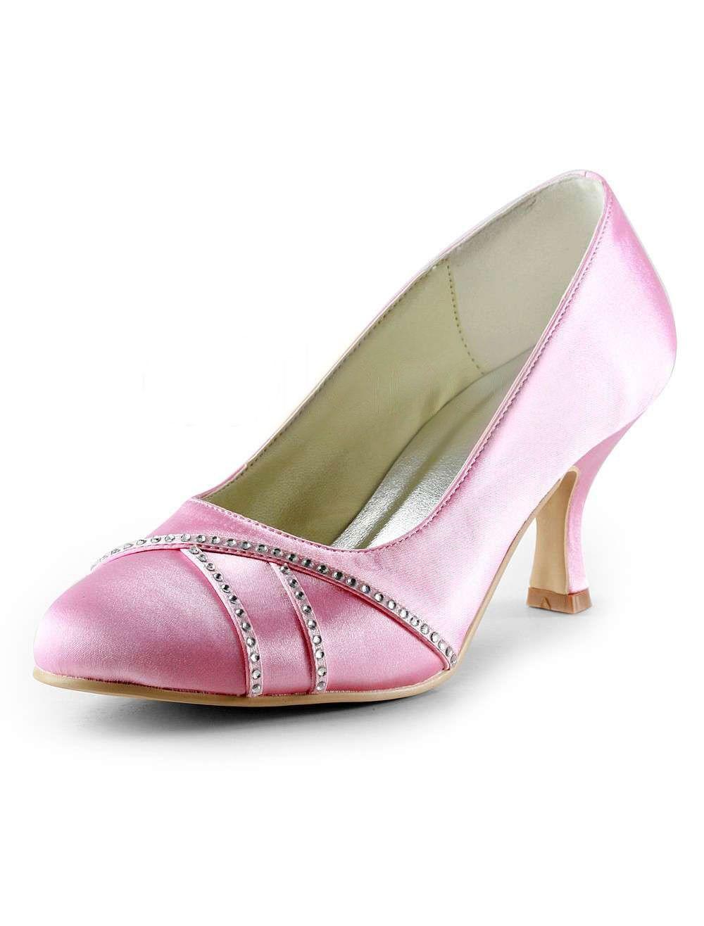 23++ Rhinestone wedding shoes pink ideas