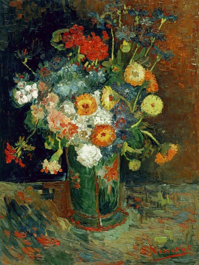 Scienzaescuola On Twitter Van Gogh Flowers Van Gogh Art Vincent Van Gogh Art