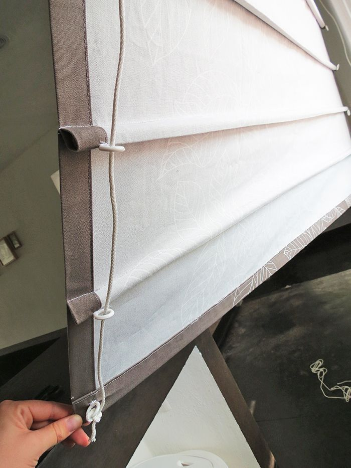 How to make roman blinds - Ohoh deco