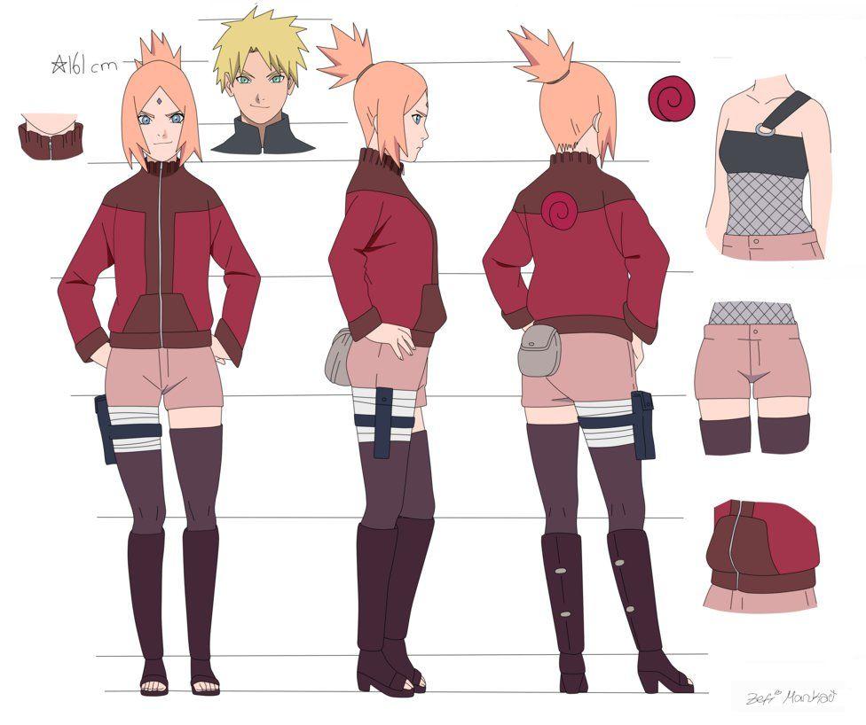Naruto oc hanako by on