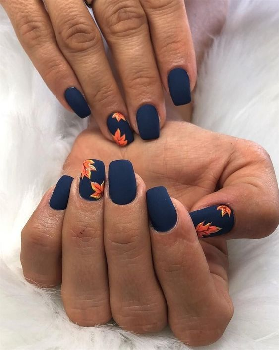 American Manicure - Dark And Exciting American Manicure - dark and exciting Nail Desing cute nail designs