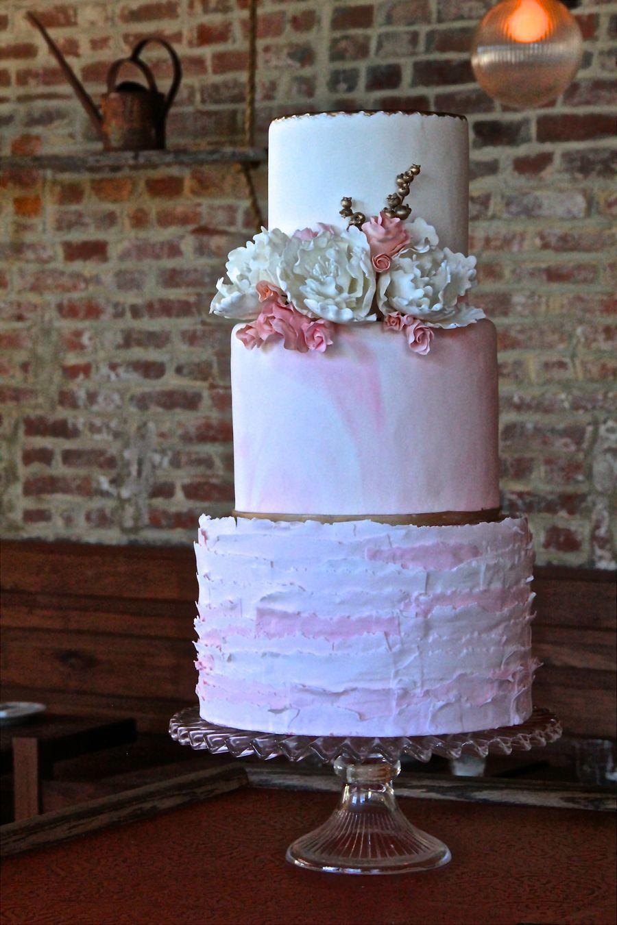 Cakes: Buttercream Bakeshop - http://www.stylemepretty.com/portfolio/buttercream-bakeshop   Read More on SMP: http://stylemepretty.com/vault/gallery/53259