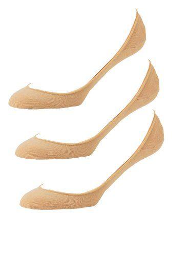 50% Off was $19.99, now is $9.99! Women's 3 pair pack Hidden Cotton Liner No-Show Socks