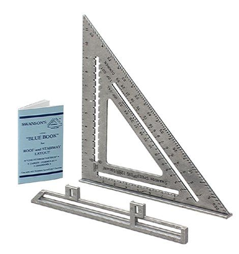 Swanson Tool So107 12 Inch Speed Square Carpentry Squares Amazon Com Speed Square Swanson Speed Square Triangle Square