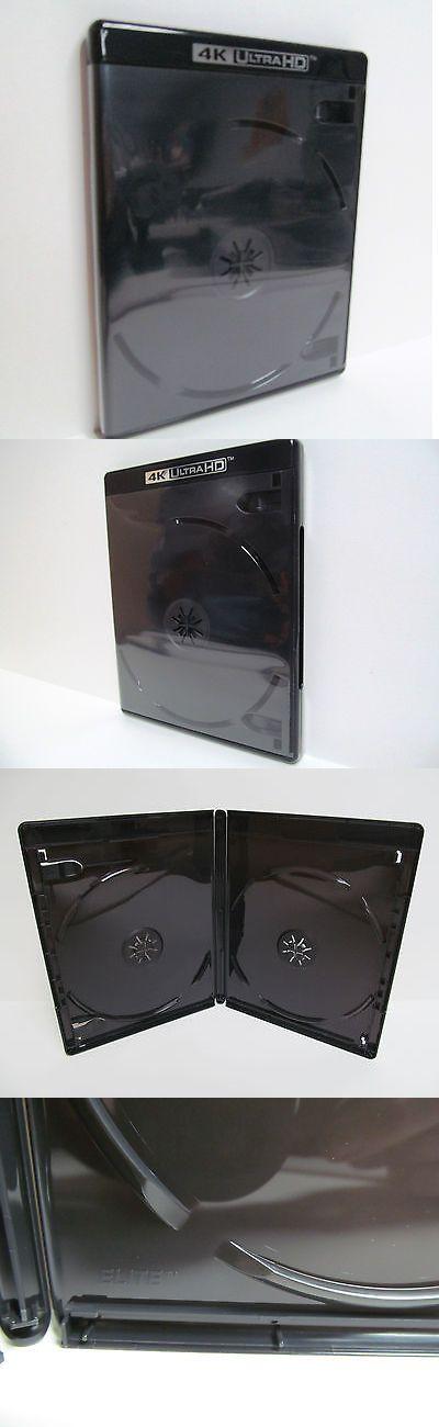 NEW Holds 2 Discs 10 Premium VIVA ELITE Double Disc Blu-ray Cases