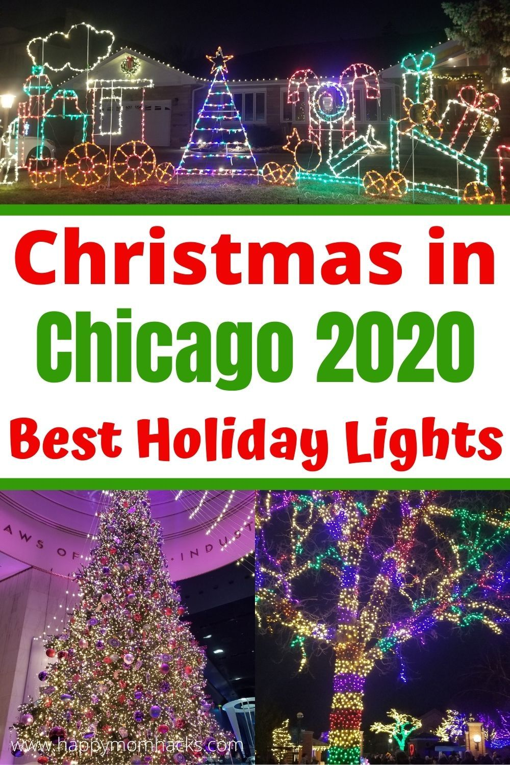 Christmas Vacation Packages 2020 From Chicago Christmas in Chicago 2020   Best Light Displays | Happy Mom Hacks