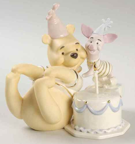 Lenox Winnie The Pooh Collection Birthday Surprise