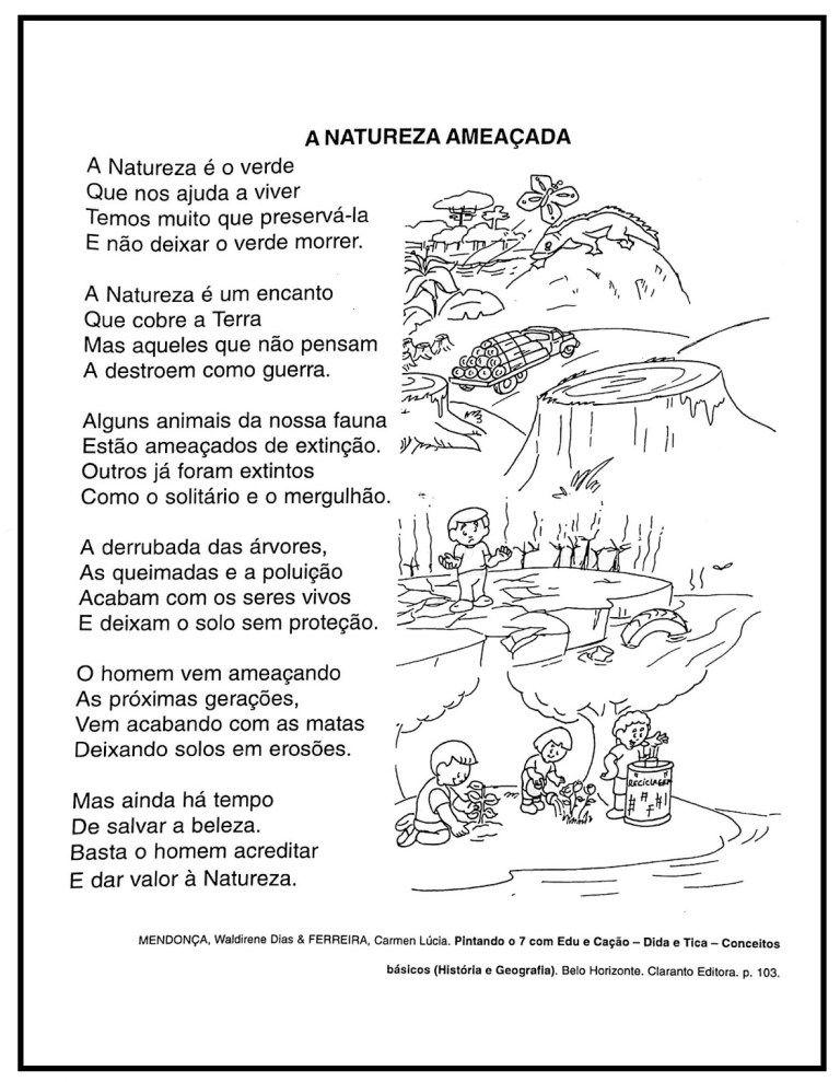 20 Atividades Dia Da Natureza Para Imprimir Educacao Infantil Em