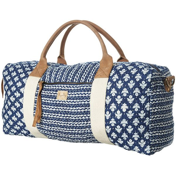 Tigerlily Chatrapati Womens Weekender Bag ($110) ❤ liked on ...