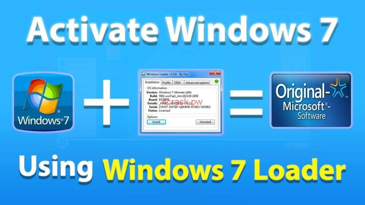 windows 7 product key crack