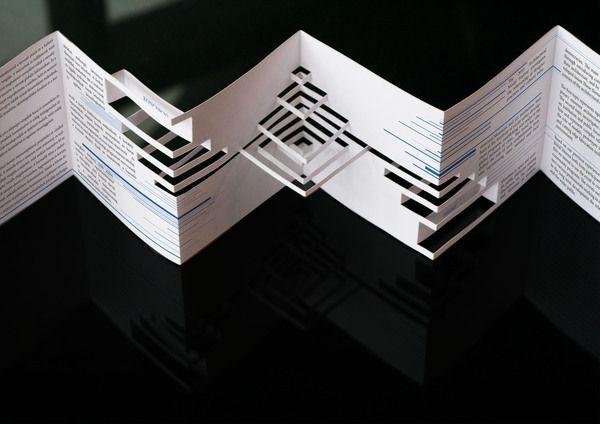 Gut bekannt LEPORELLO | Portfolio | Leporello, Papiermaschine und Origami falten AI69
