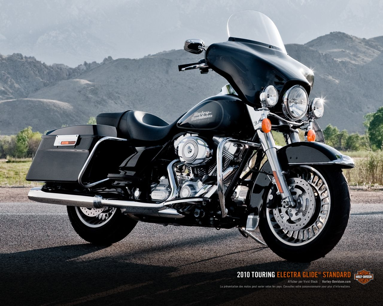 ELECTRA GLIDE STANDARD - Harley-Davidson FLHT Electra Glide Standard 1280 x  1024 11 Harley