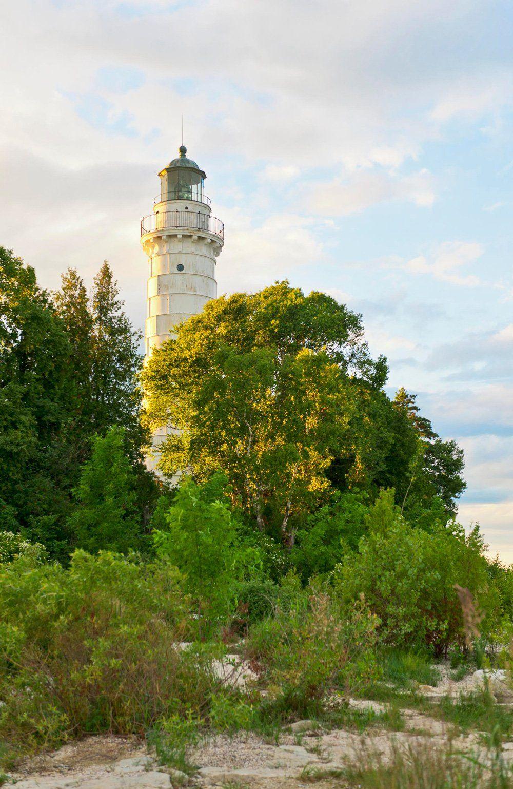 Cana island lighthouse door county lighthouses door