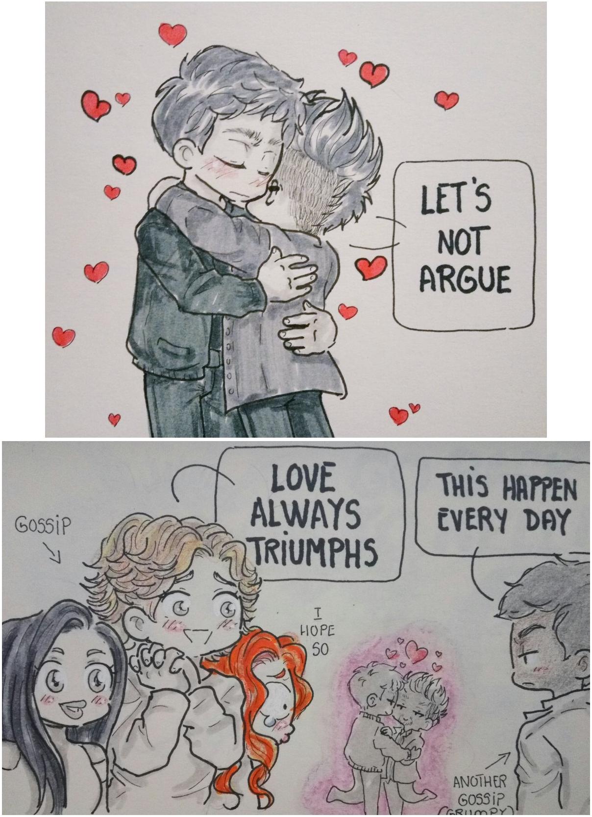 Love always triumphs