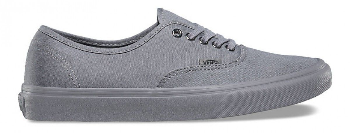 91ac0bc755d7 Vans Authentic (Primary Mono) Frost Grey Silver
