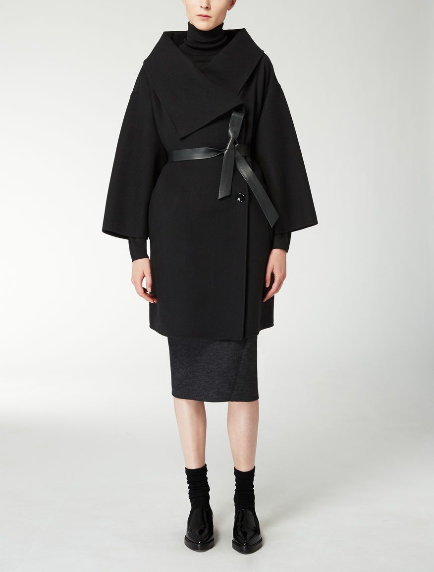 Max Mara GETTATA black: Pure wool jacket. | Coat Check | Pinterest ...