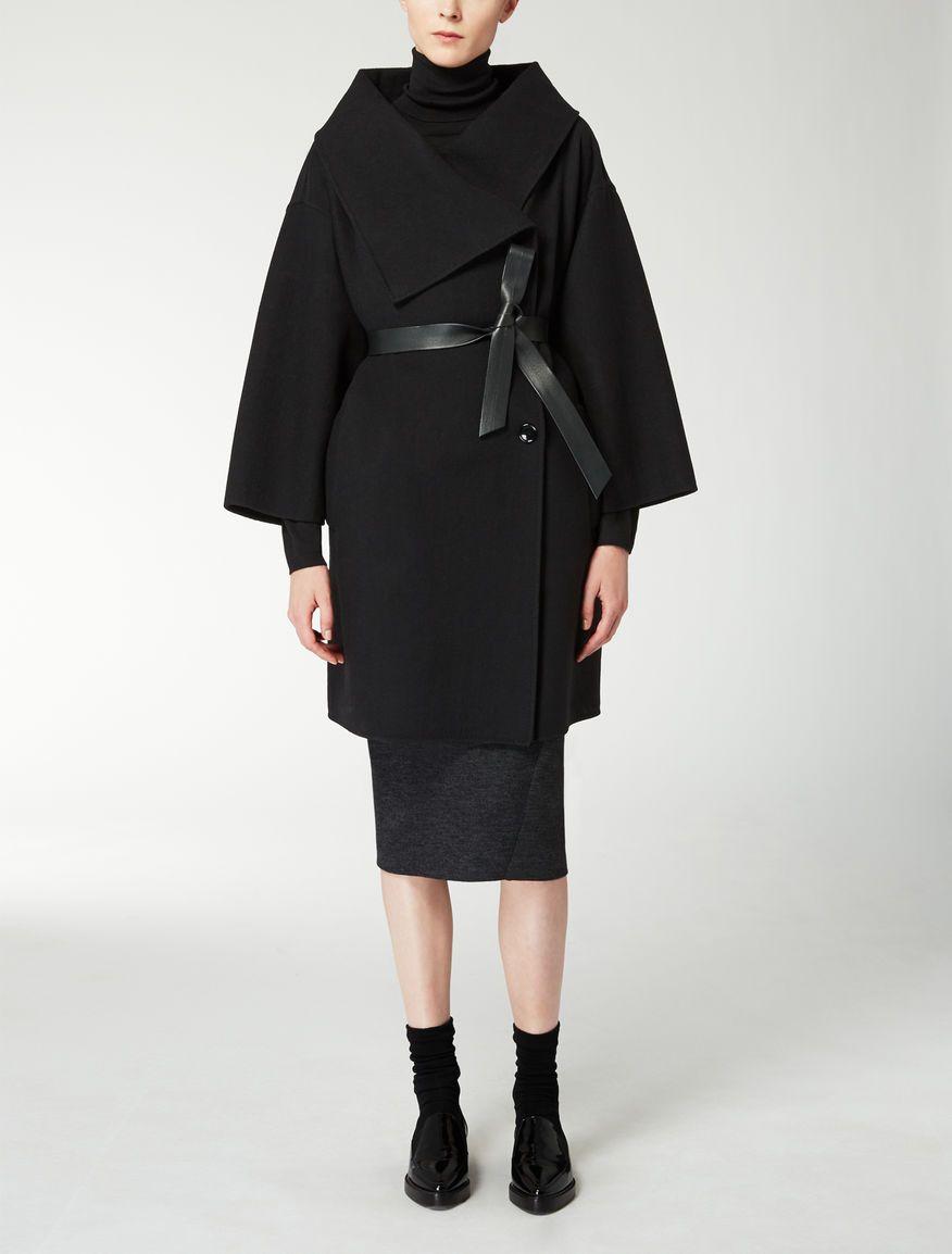 Max Mara GETTATA black: Pure wool jacket. | Coat Check | Pinterest ...