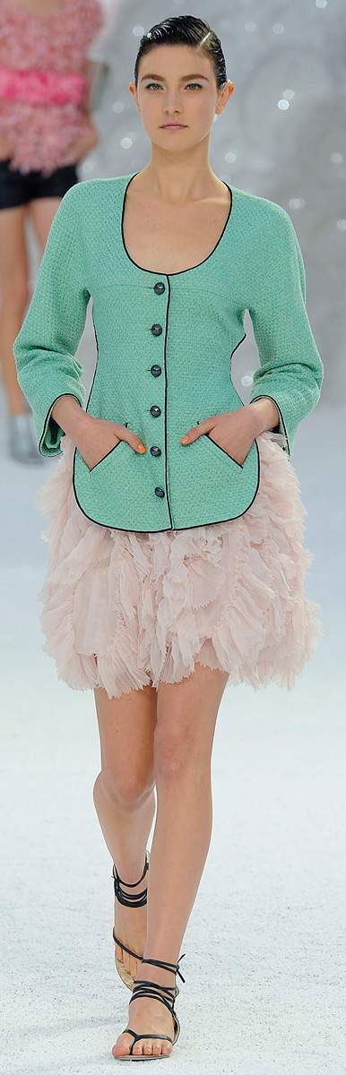 Chanel :: Spring Runway 2012 :: Pastels