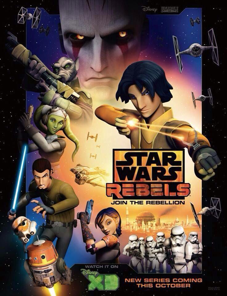 The Rebels. Star wars episodes, Star wars rebels movie