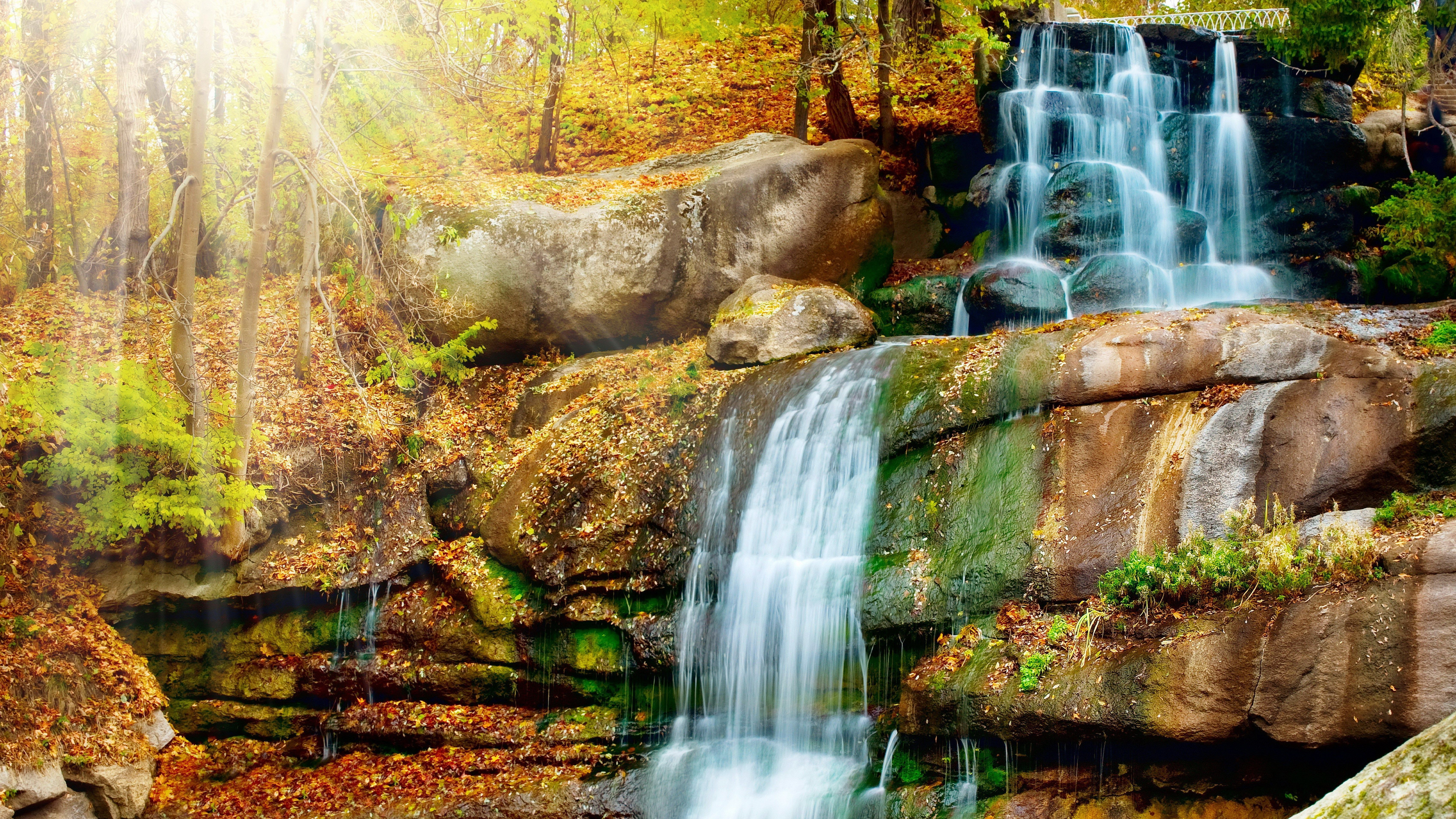 waterfall backgrounds for desktop hd backgrounds 6800x3825 7608 kb
