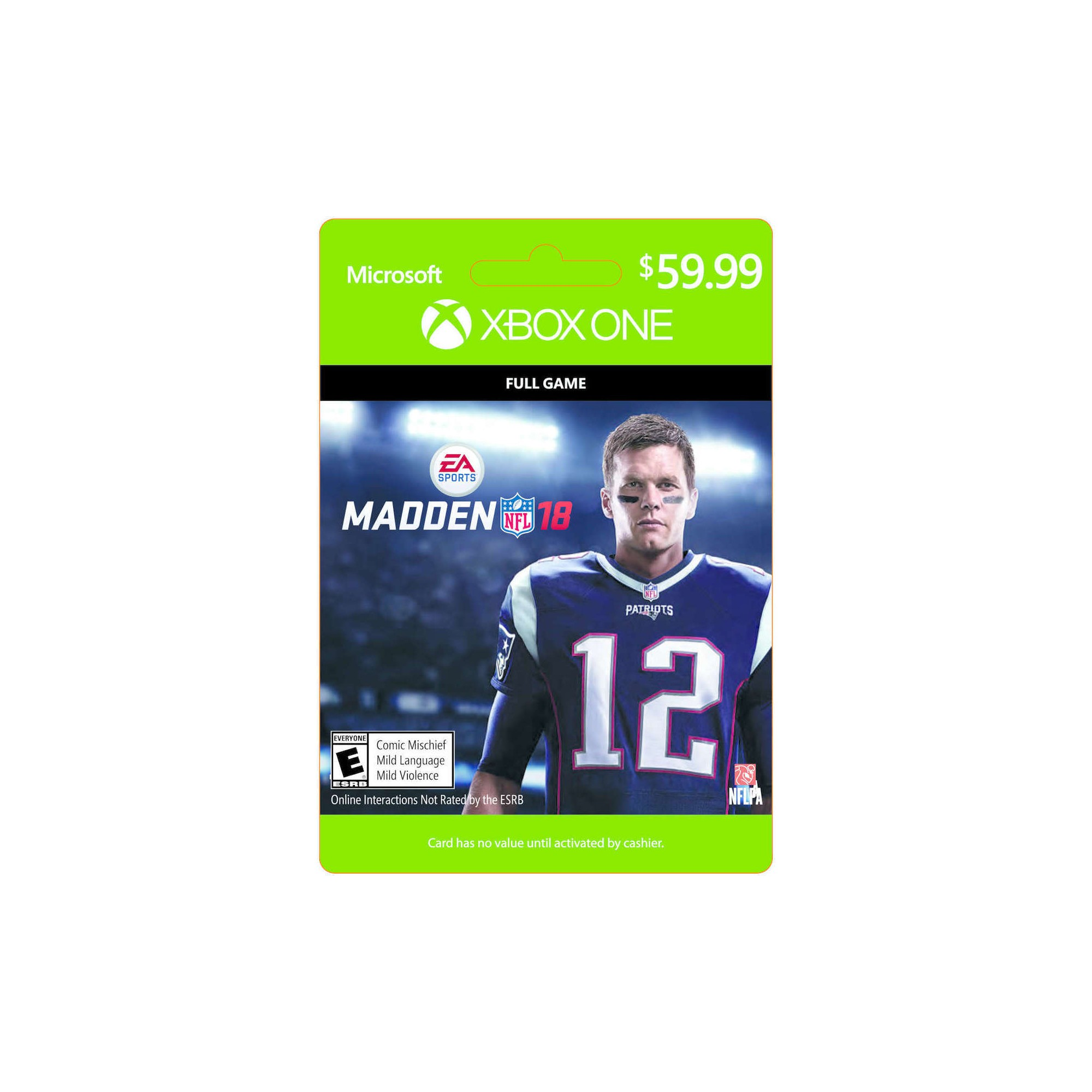 Xbox One Madden NFL 18 Full Game  59.99 - Email Delivery  3613b2a31e4