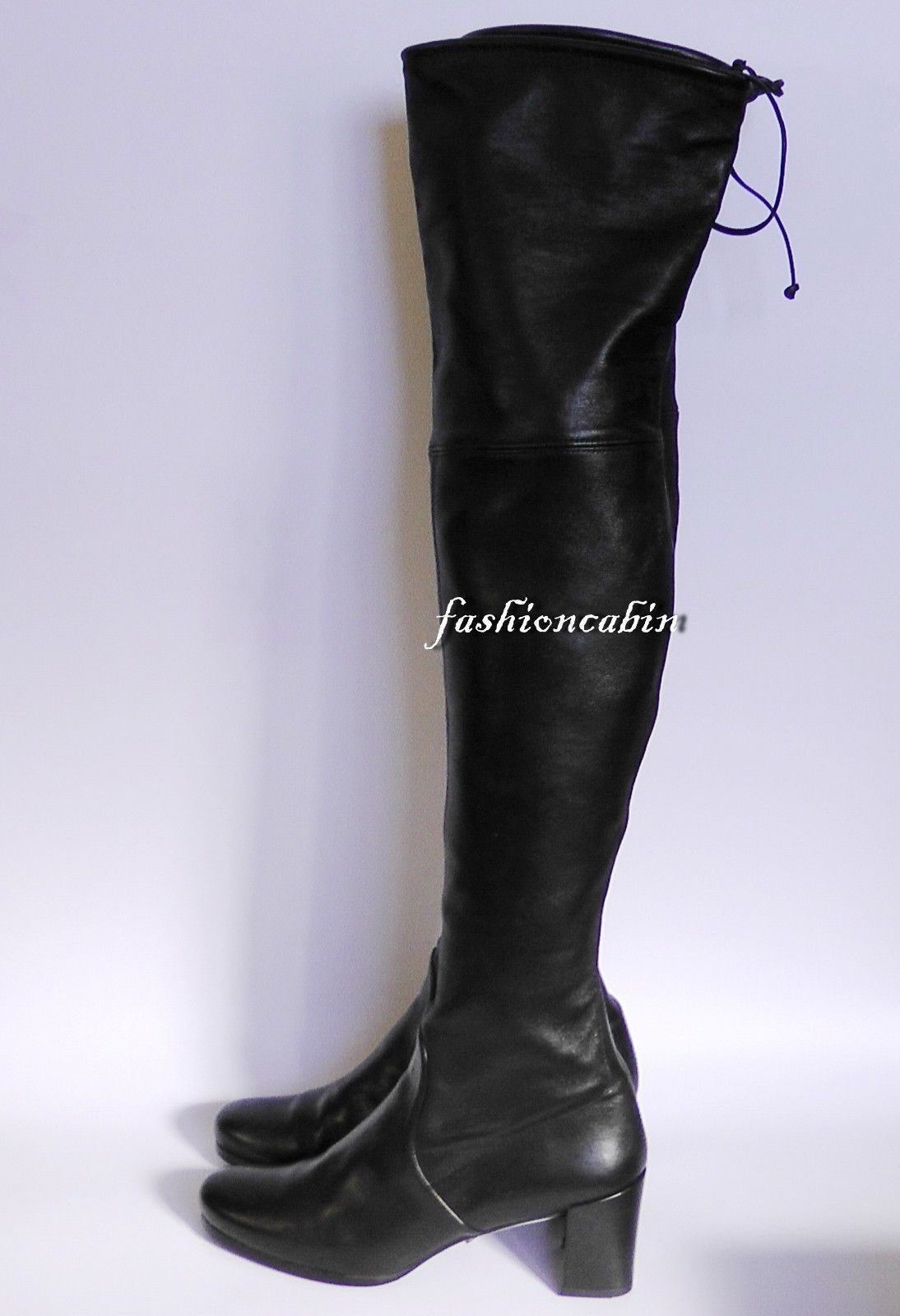 f49d43a3dfb  🍏51% OFF Stuart Weitzman Tieland Leather Over the Knee Boot Shoe~sz8~MSRP   875