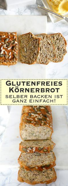 glutenfreies k rnerbrot selber backen ist ganz einfach rezept thermokessel pinterest. Black Bedroom Furniture Sets. Home Design Ideas