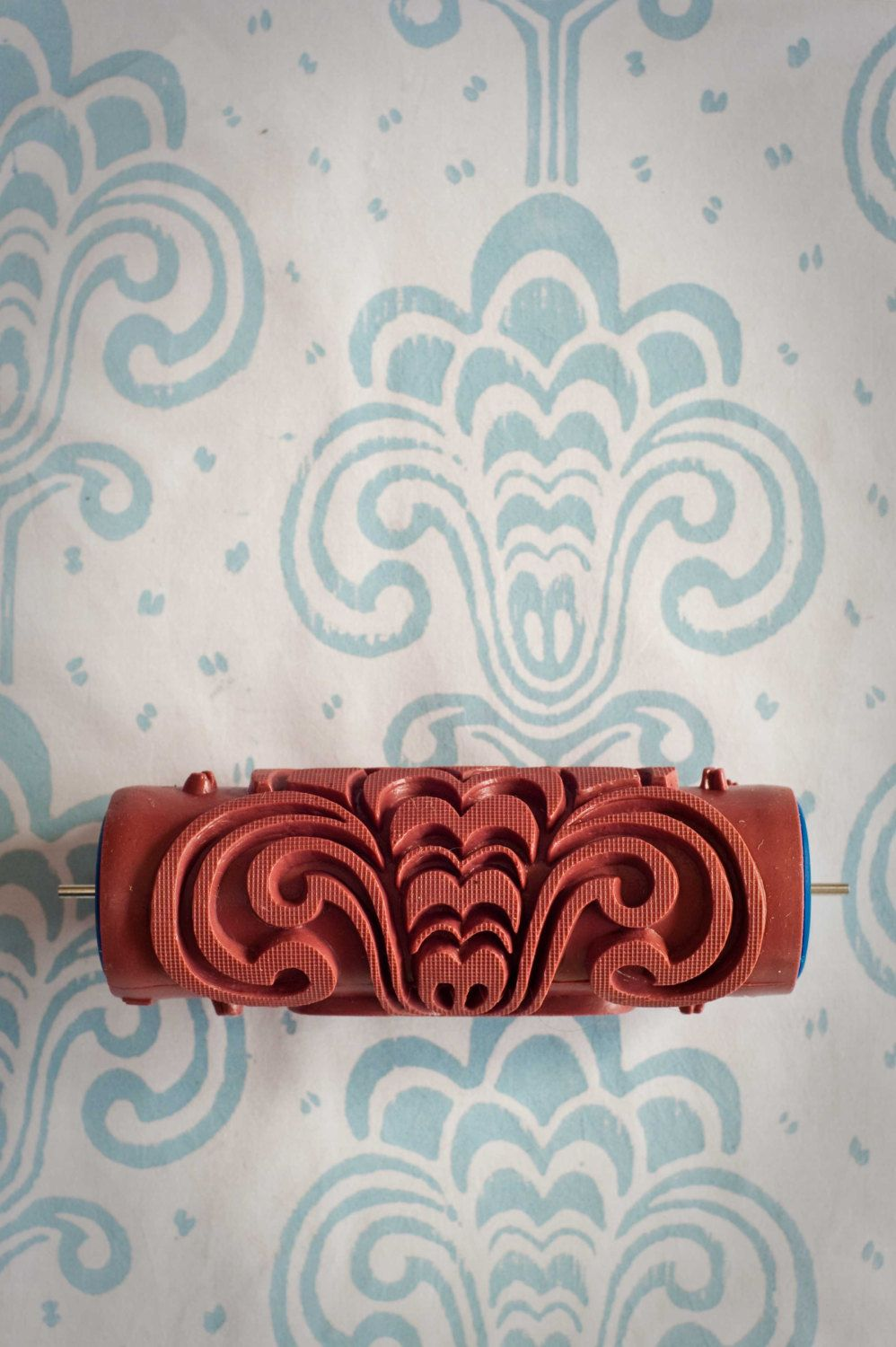 13 Patterned Paint Roller from The Painted House