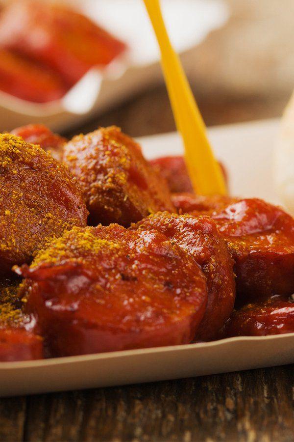 Rezept: Berliner Currywurst selber machen #octoberfestfood