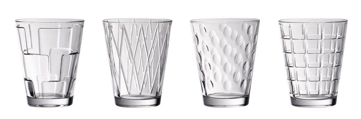 Villeroy Boch Wasserglas Set 4 Teilig Clear Dressed Up Online Kaufen Wasserglas Glas Kristallglas