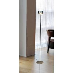 Photo of Top Light Puk Maxx Eye Floor Stehleuchte weiß-chrom Glas matt 107cm Led Top LightTop Light