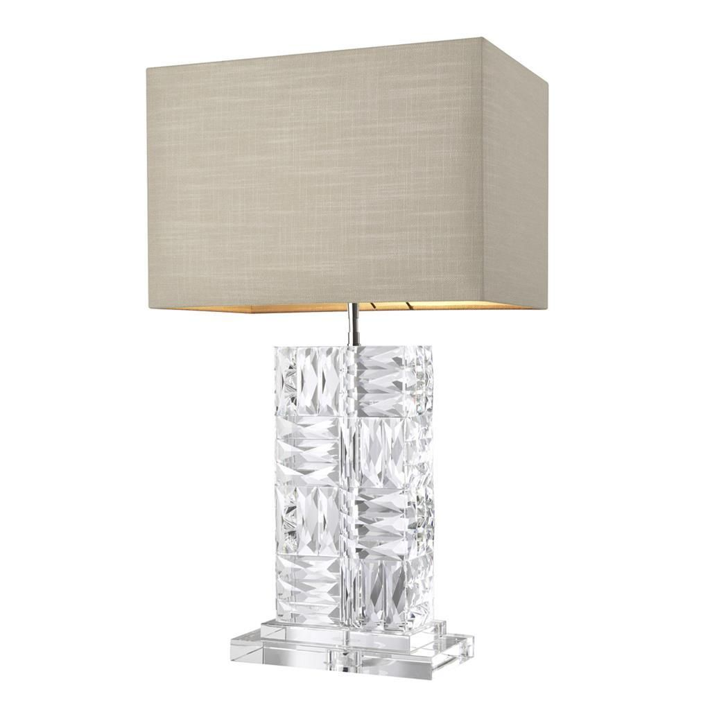 Crystal Table Lamp Eichholtz Contemporary Contemporary Table Lamps Table Lamp Luxury Lamp