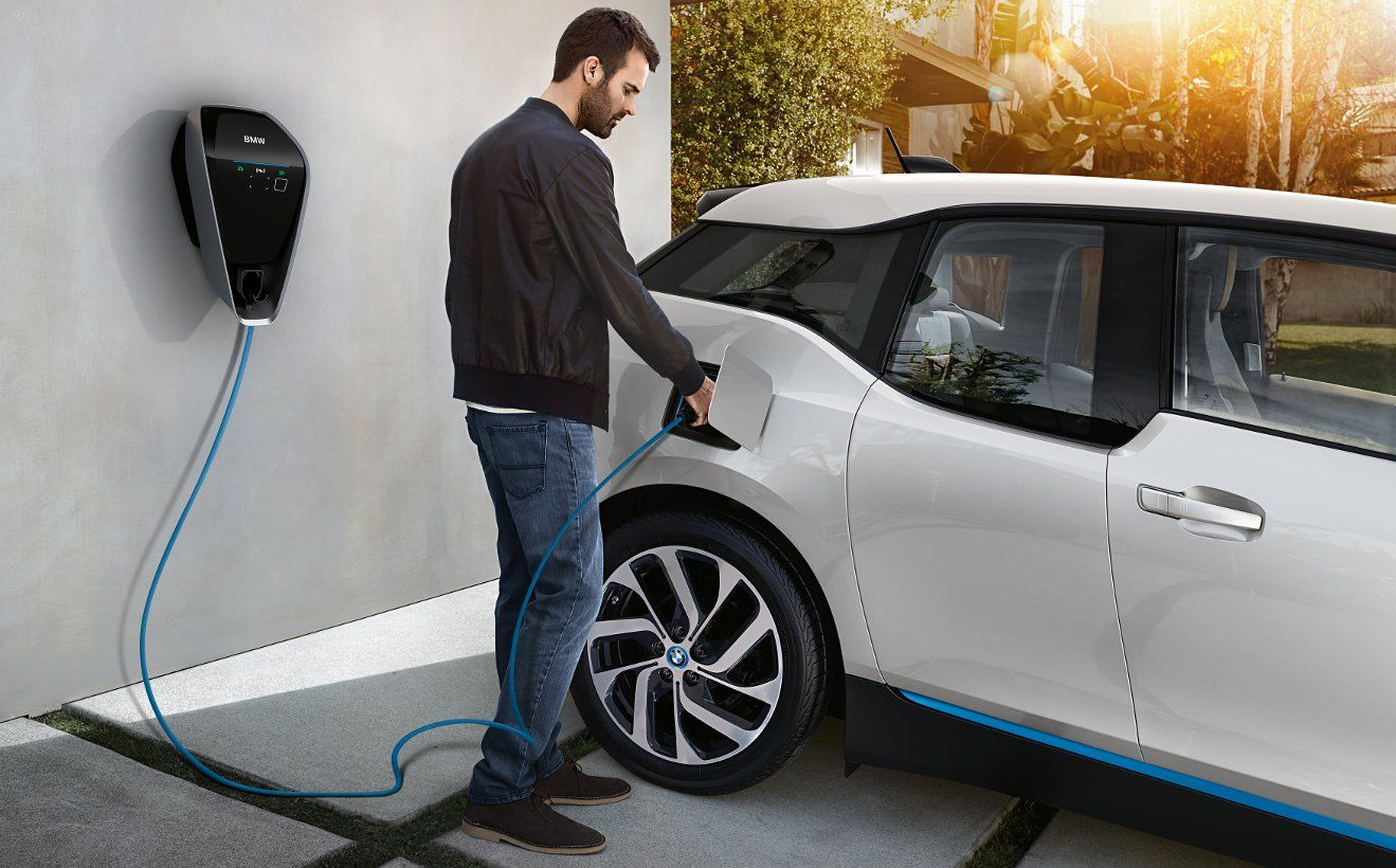 Electric Car Charging Station New homes in the UK will