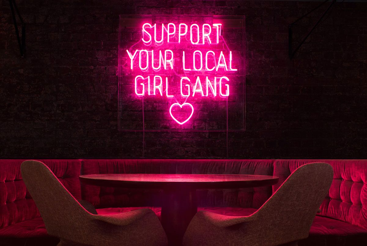 Support You Local Gang Neon By
