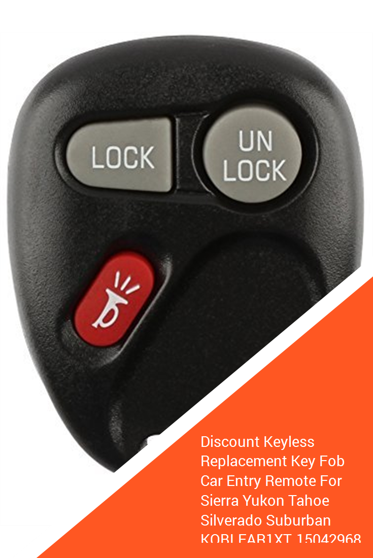 Discount Keyless Replacement Key Fob Car Entry Remote For Sierra