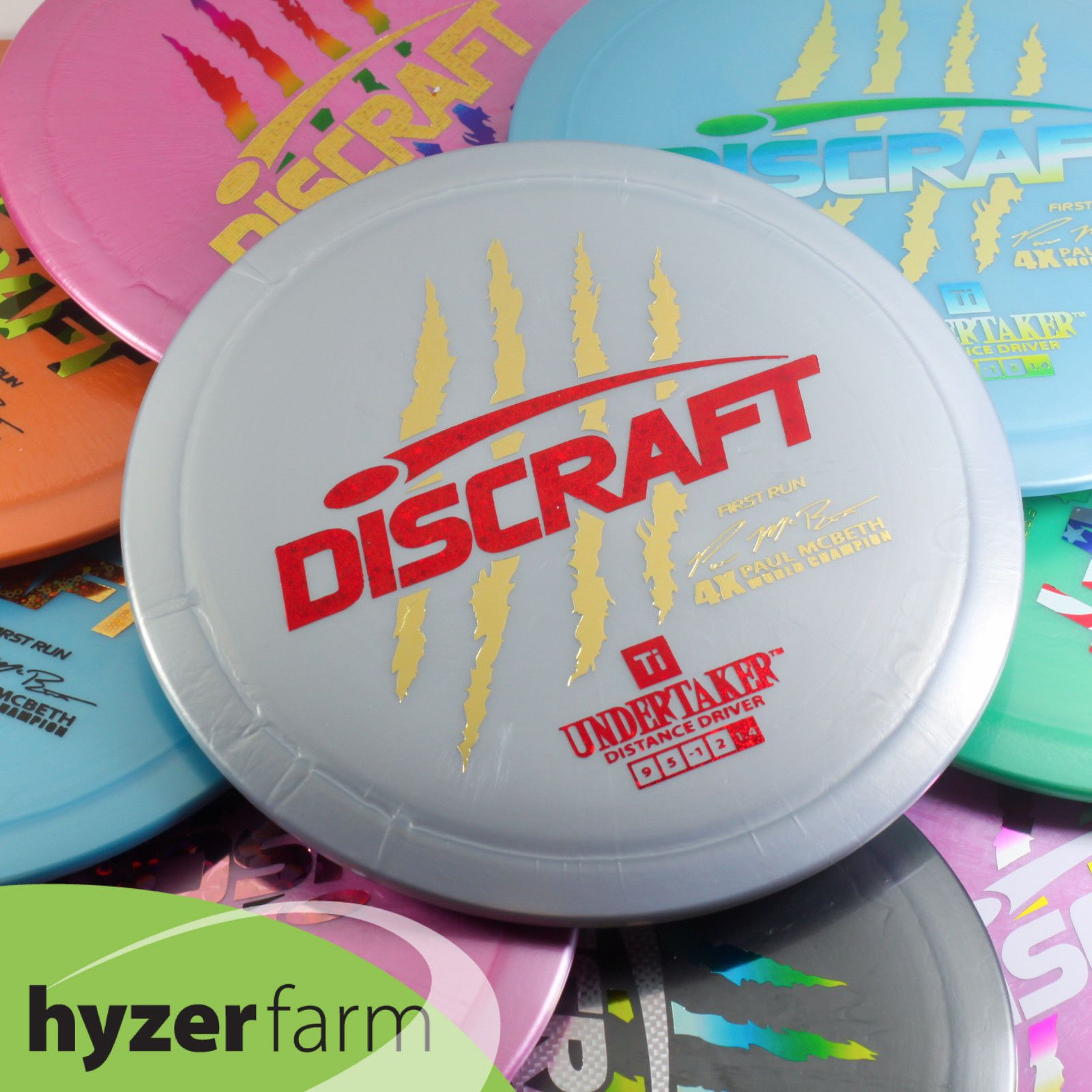 c46f0fdda1e Disc Golf 184355  Discraft First Run Paul Mcbeth Stamp Z Force  Pick Weight  Color