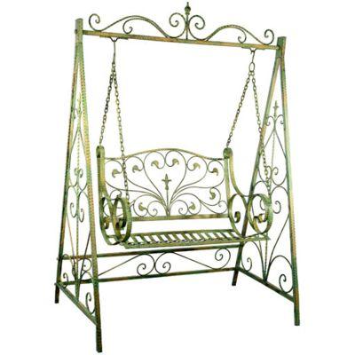 Exceptional Balancelle Fer Forge Jardin Jardin mobilier Pinterest