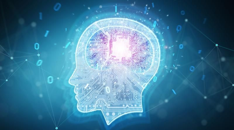 Artificial Intelligence Digital Brain Background 3d Artificial Intelligence Future Artificial Intelligence Technology Machine Learning Artificial Intelligence