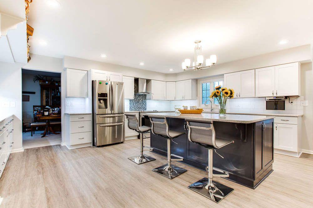 White And Dark Kitchen Ideas Reico Kitchen Bath Kitchen