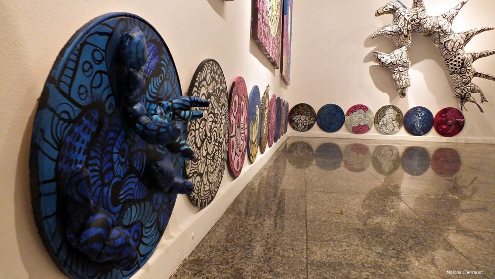 "Mostra ""Objetos"", de Lourdes Barreto na SJCC"