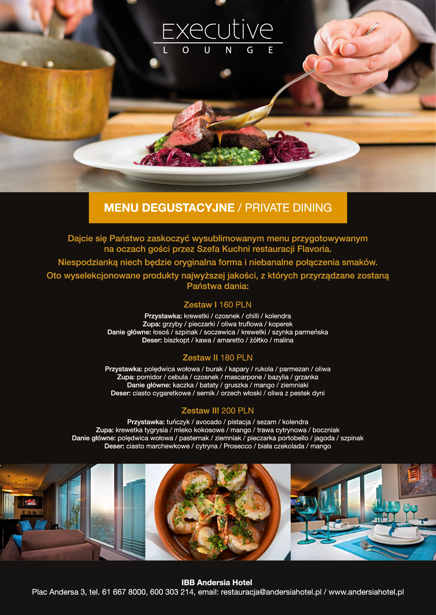 Private Dining Na 9 Pietrze W Hotelu Ibb Andersia Private Dining Food Beef