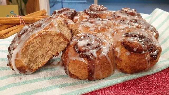 Phil Vickery's iced cinnamon buns in 2020   Phil vickery ...