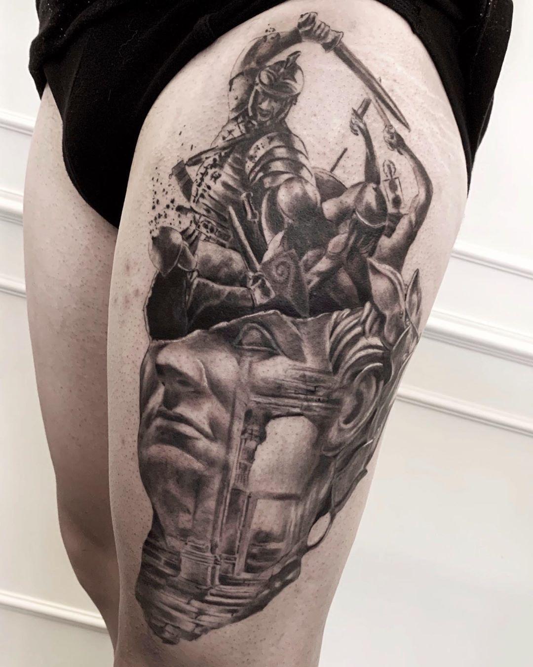 By @fabiofilipponetattoo  #tattoodefender #tattoodefenderteam #tattoodefenderaftercare #tattooink #tatuati #tatuatori #loveyourskin #movesafe #tattooart #tattoos #tat #tattooing #realistic #realistictattoo #tattoorealistic #realistictattoos #realisticink #ink #inktattoo