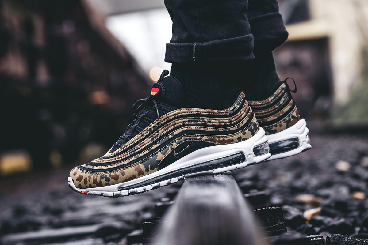 "reputable site e7a66 085ff Nike Air Max 97 ""Germany"" (Country Camo Pack) Detailed Pictures - EU Kicks  Sneaker Magazine"