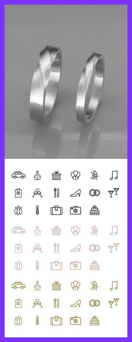 ✿ DIE JUWELEN Handgemachte solide 14k White Gold sein und ihrs Mobius Hochzeit Ringe gesetzt. Trauringe ist ein Schmuckstück, die Sie am meisten zu tragen. Daher sollte das Design zusammen mit allem gehen, die Sie tragen, aus einem Cocktail-Kleid zu Ihrer lässigen Outfit. Diese  #Wedding #Cards #Incl #Printing #weddinggifts #weddingmemes #weddingpossibilities #weddingdressesmermaidofftheshoulderbling #weddingguest #