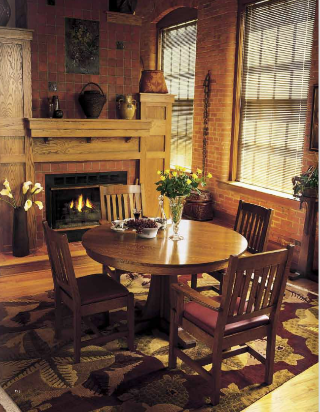 Stickley Dining Room Furniture: Country Decorating Ideas
