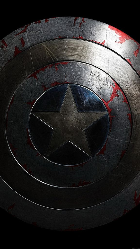 Captain America Avengers Hero Sheild Art Dark 34 Iphone6 Plus Wallpaper Captain America Winter Soldier